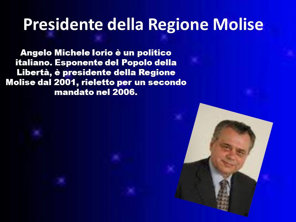 Presidente della Regione Molise