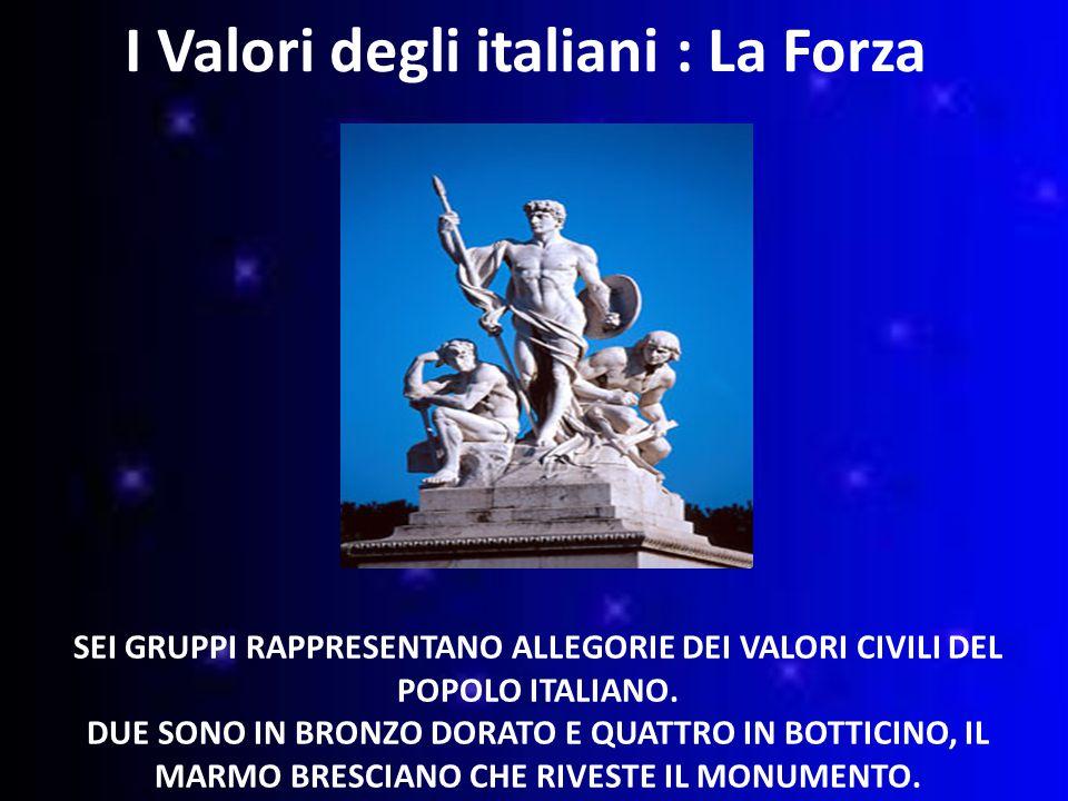 I Valori degli italiani : La Forza