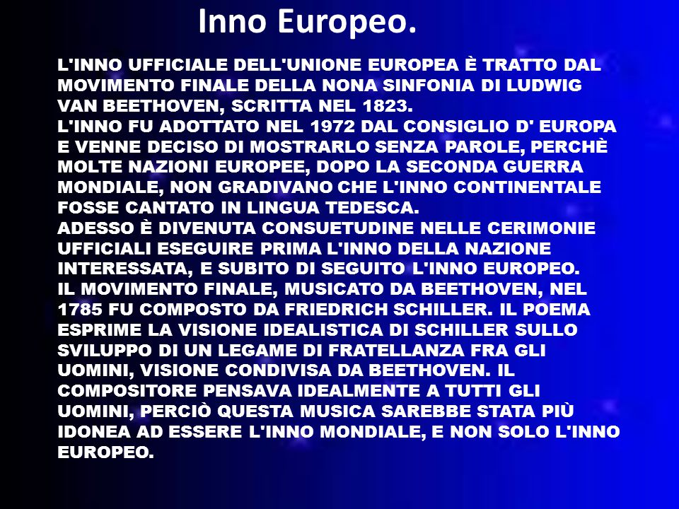Inno Europeo.