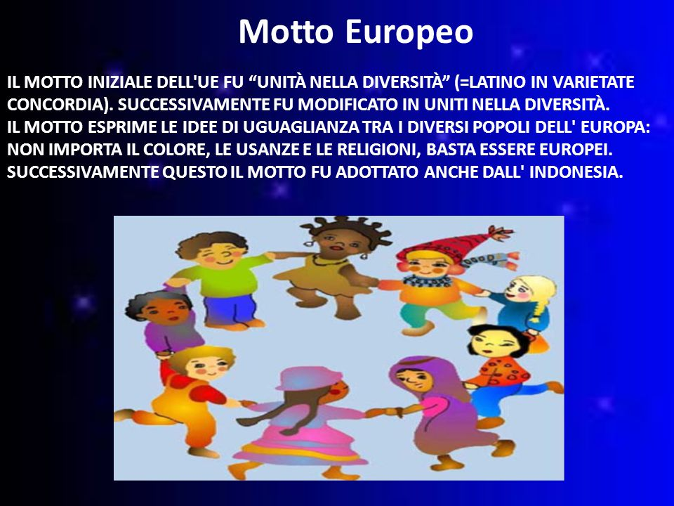 Motto Europeo