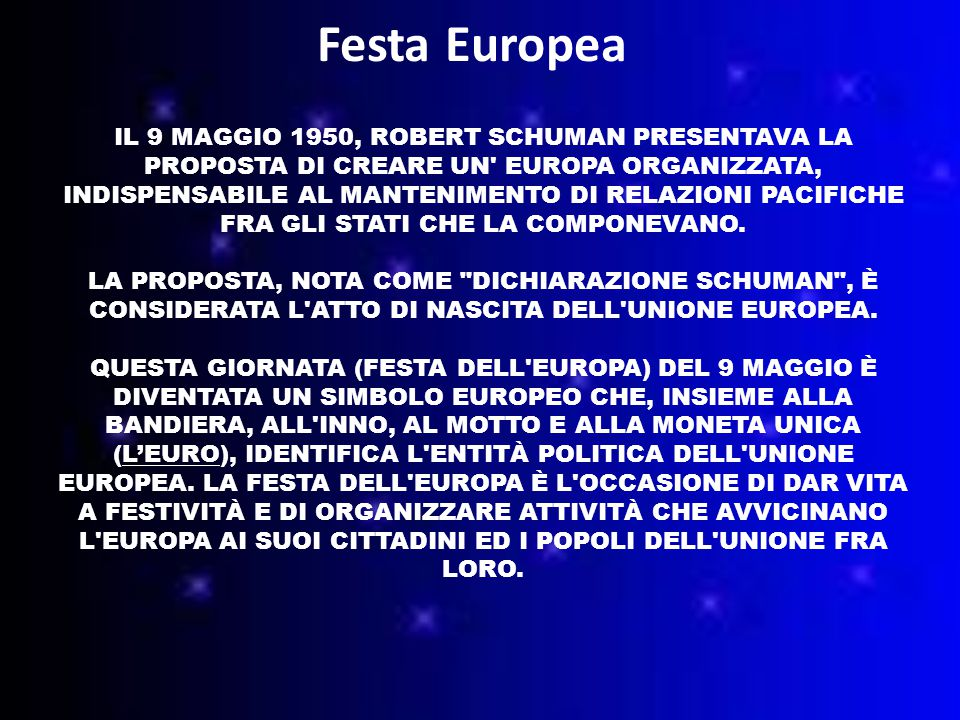 Festa Europea