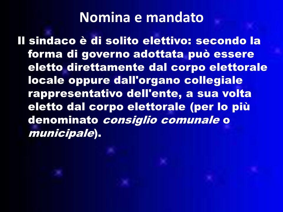 Nomina e mandato