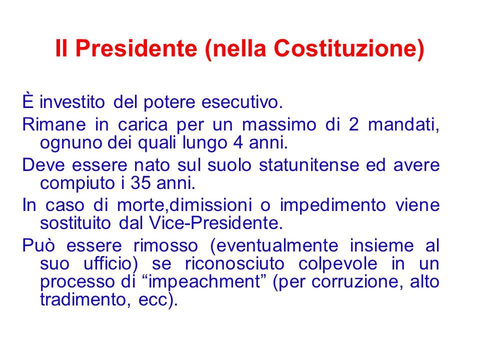 Il Presidente (nella Costituzione)