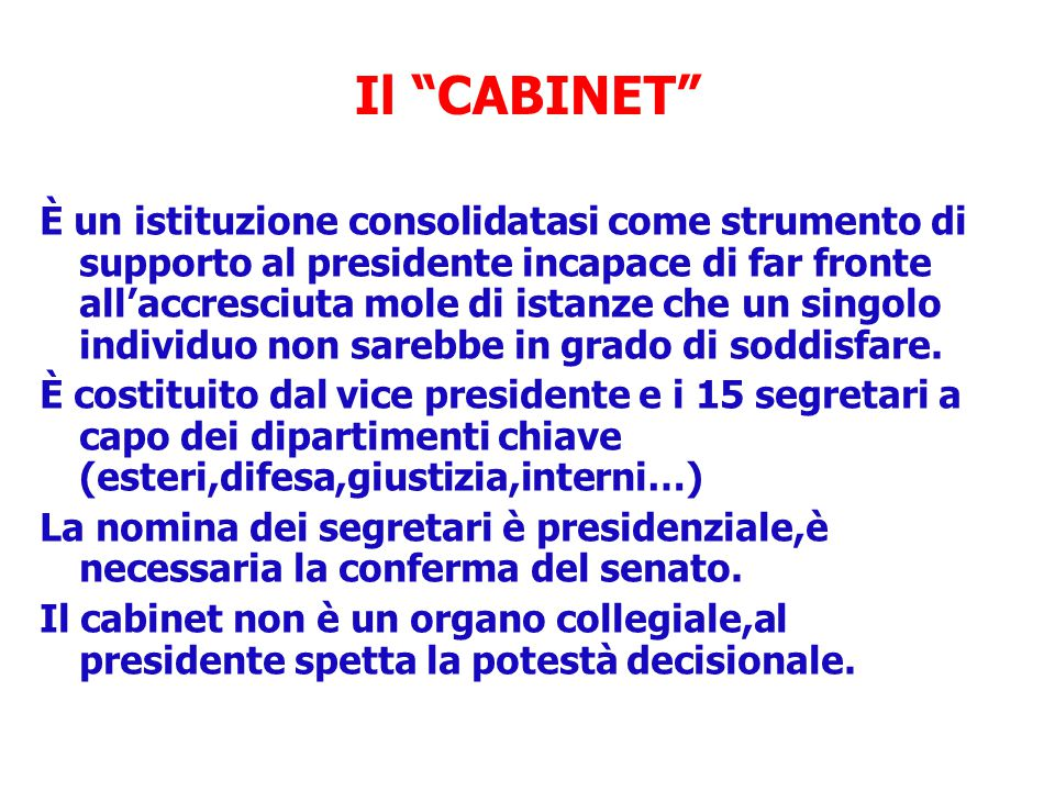 Il CABINET