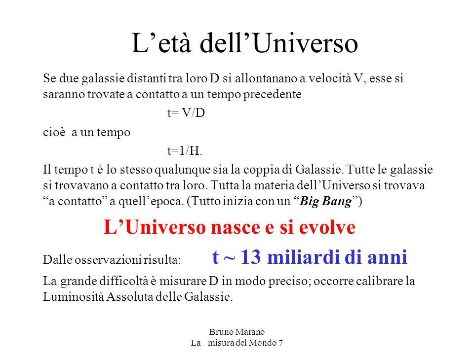 L'Universo nasce e si evolve