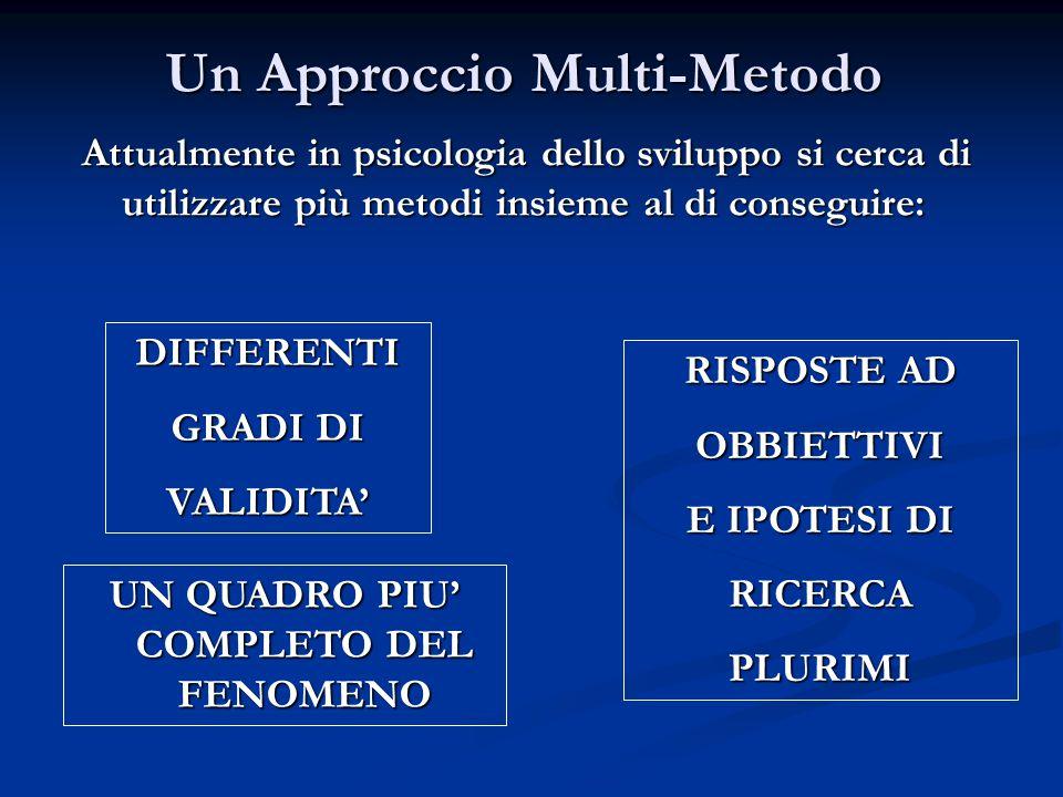 Un Approccio Multi-Metodo