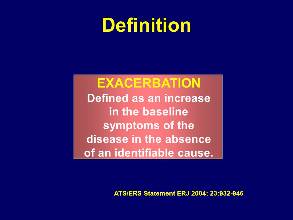 Diagnosis of Chronic Bronchitis and AECB