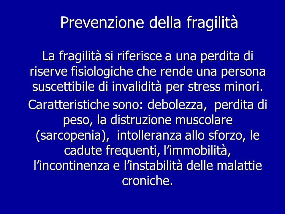 Prevenzione della fragilità