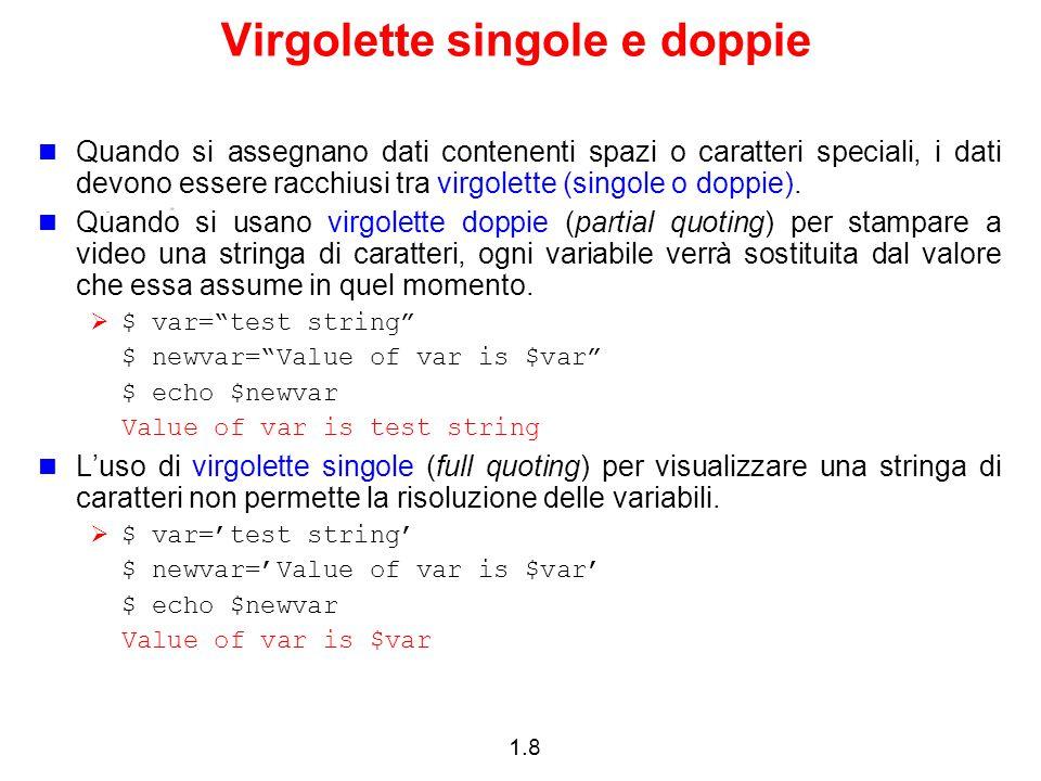 Virgolette singole e doppie