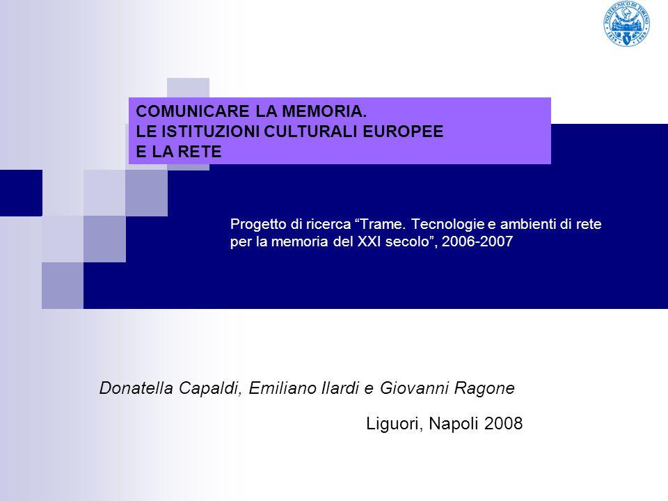 Donatella Capaldi, Emiliano Ilardi e Giovanni Ragone