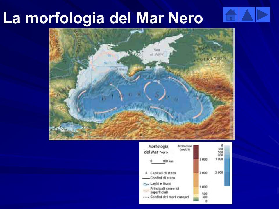 La morfologia del Mar Nero