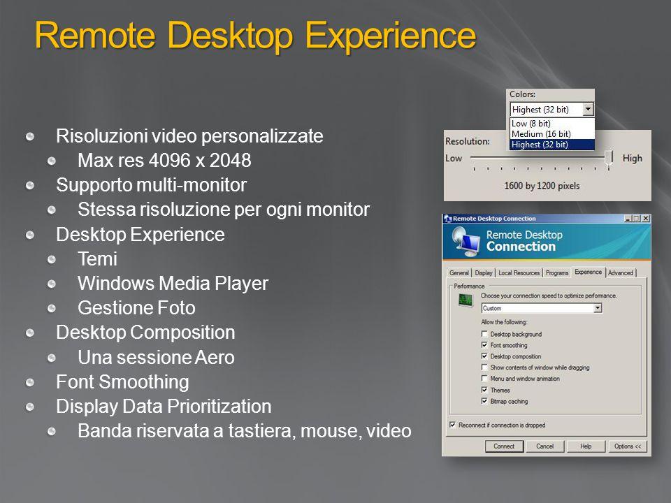 Remote Desktop Experience