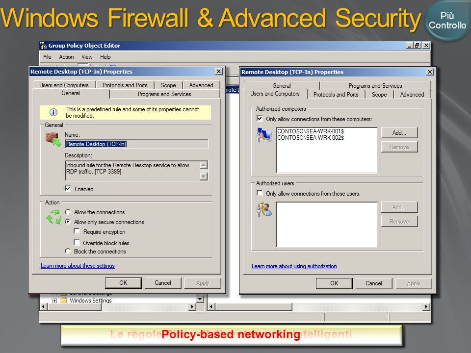 Windows Firewall & Advanced Security
