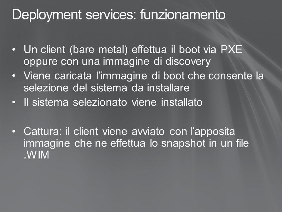 Deployment services: funzionamento