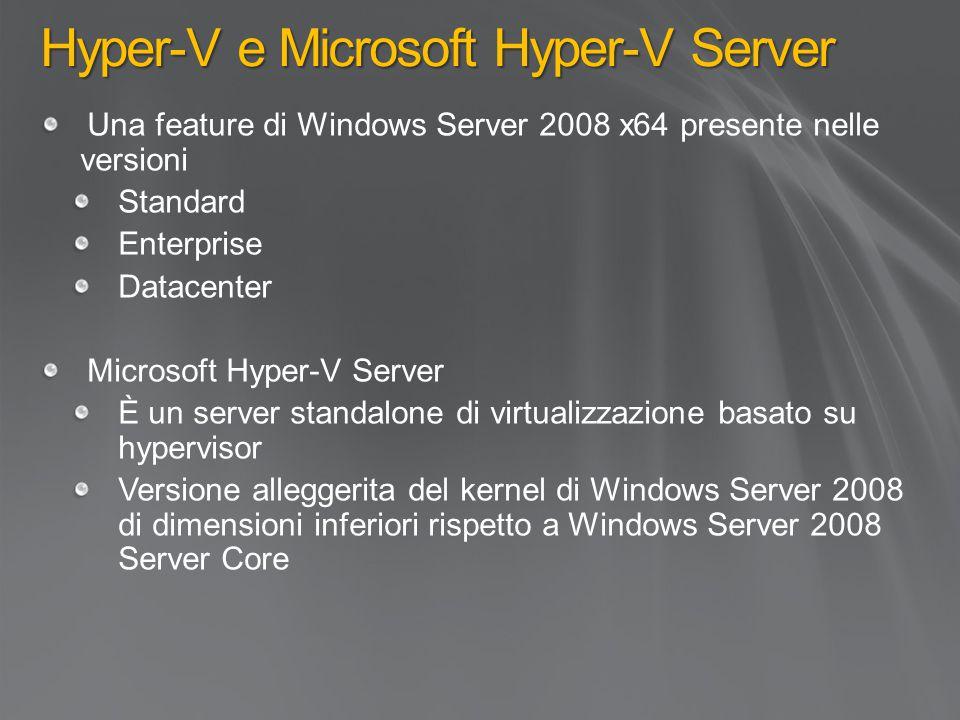 Hyper-V e Microsoft Hyper-V Server