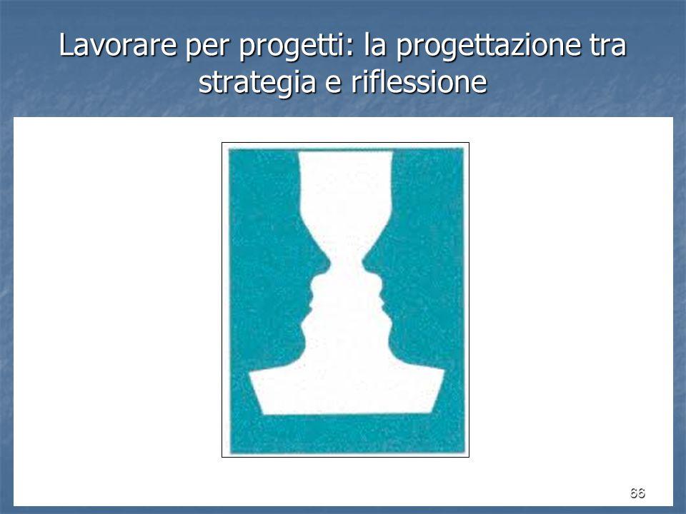 Lavorare per progetti: la progettazione tra strategia e riflessione