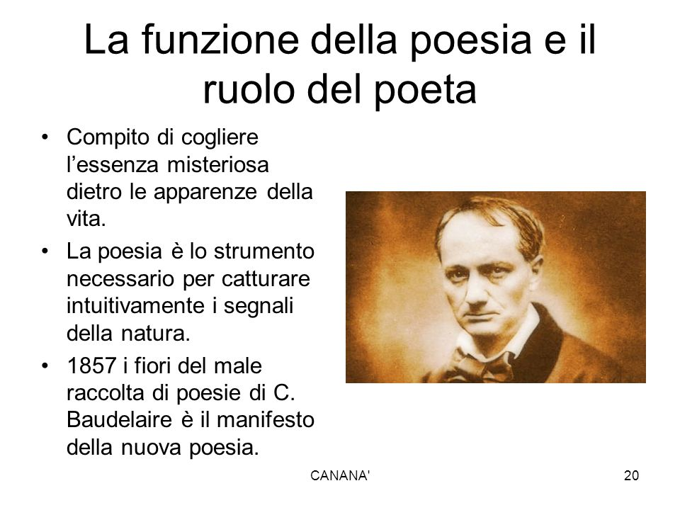 La funzione della poesia e il ruolo del poeta
