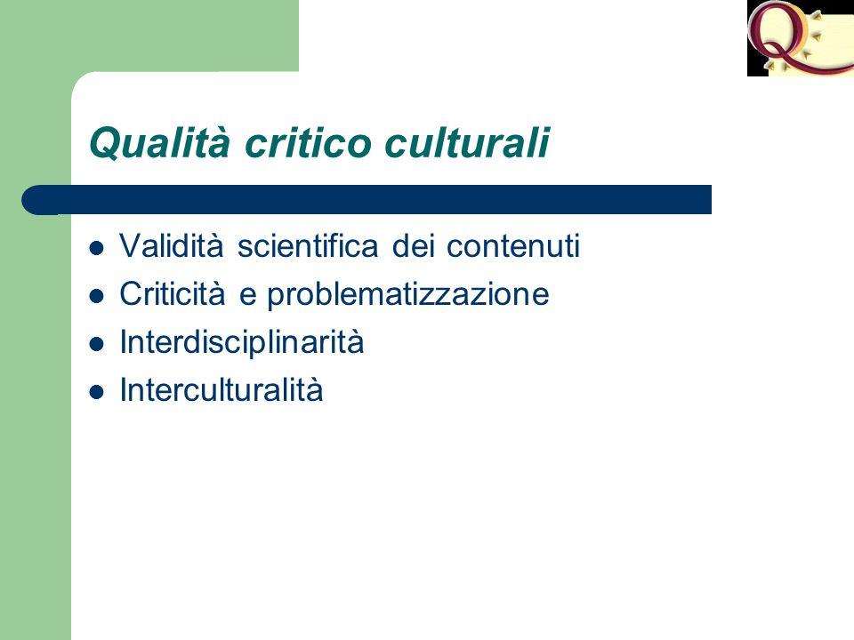 Qualità critico culturali