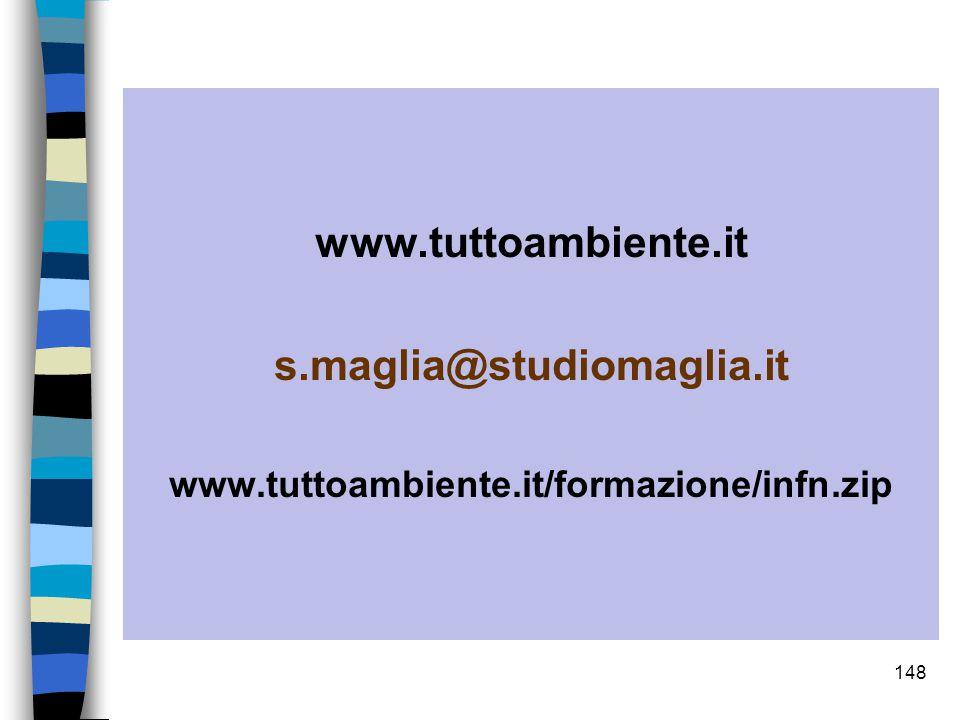 www.tuttoambiente.it s.maglia@studiomaglia.it