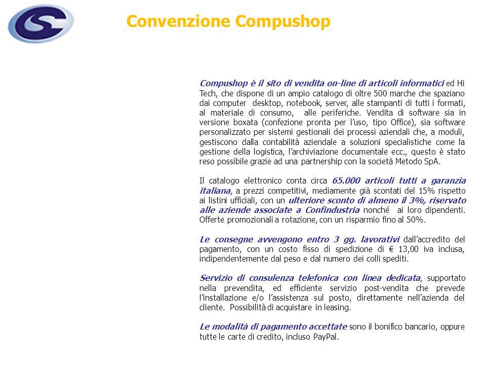 Convenzione Compushop