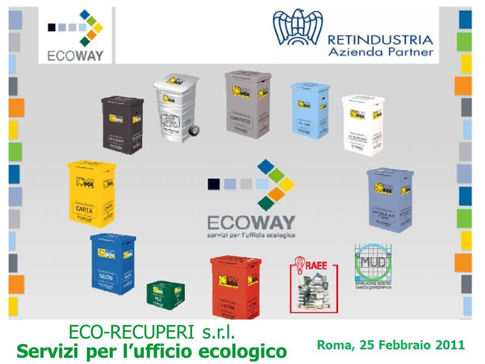 ECO-RECUPERI s.r.l. Servizi per l'ufficio ecologico