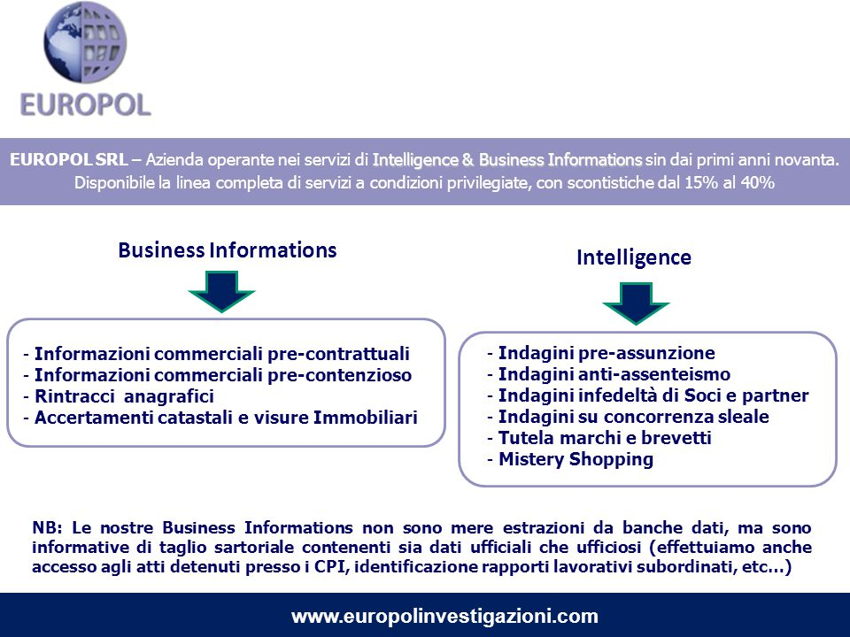 Business Informations