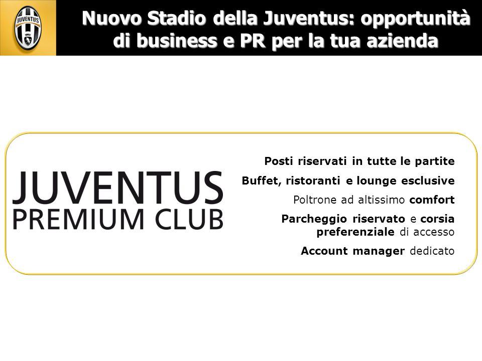 Nuovo Stadio della Juventus: opportunità di business e PR per la tua azienda
