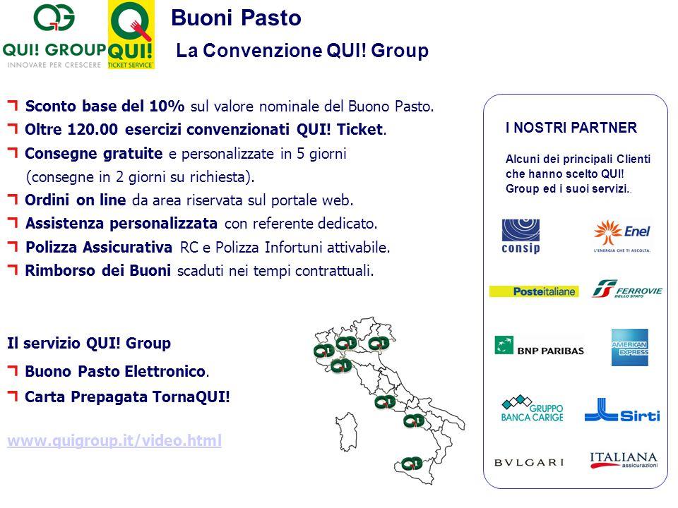Buoni Pasto La Convenzione QUI! Group