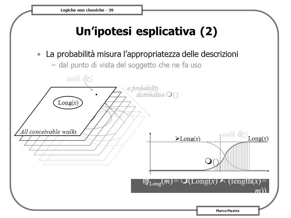 Un'ipotesi esplicativa (2)