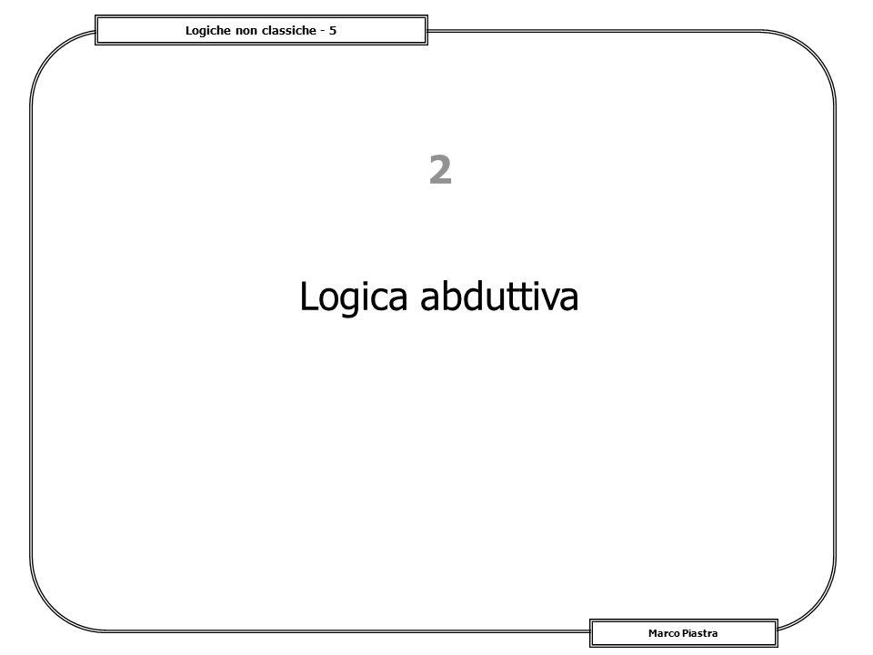2 Logica abduttiva
