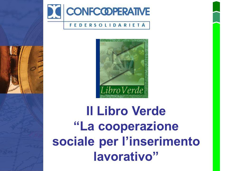 La cooperazione sociale per l'inserimento lavorativo