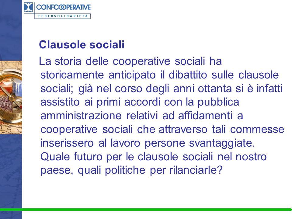 Clausole sociali