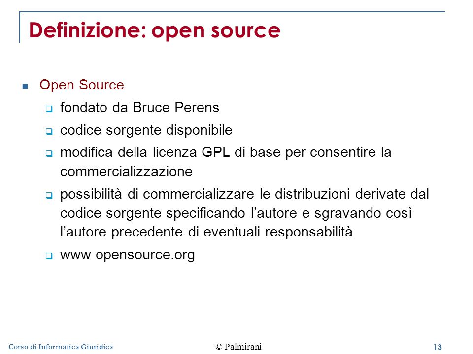 Definizione: open source