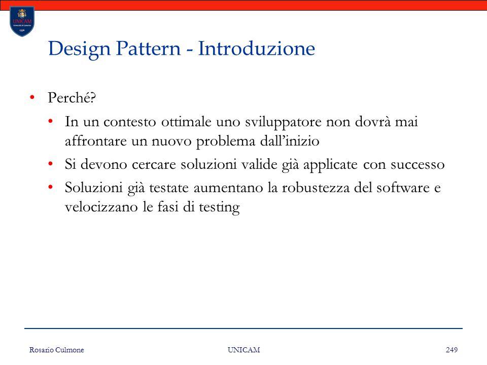 Design Pattern - Introduzione
