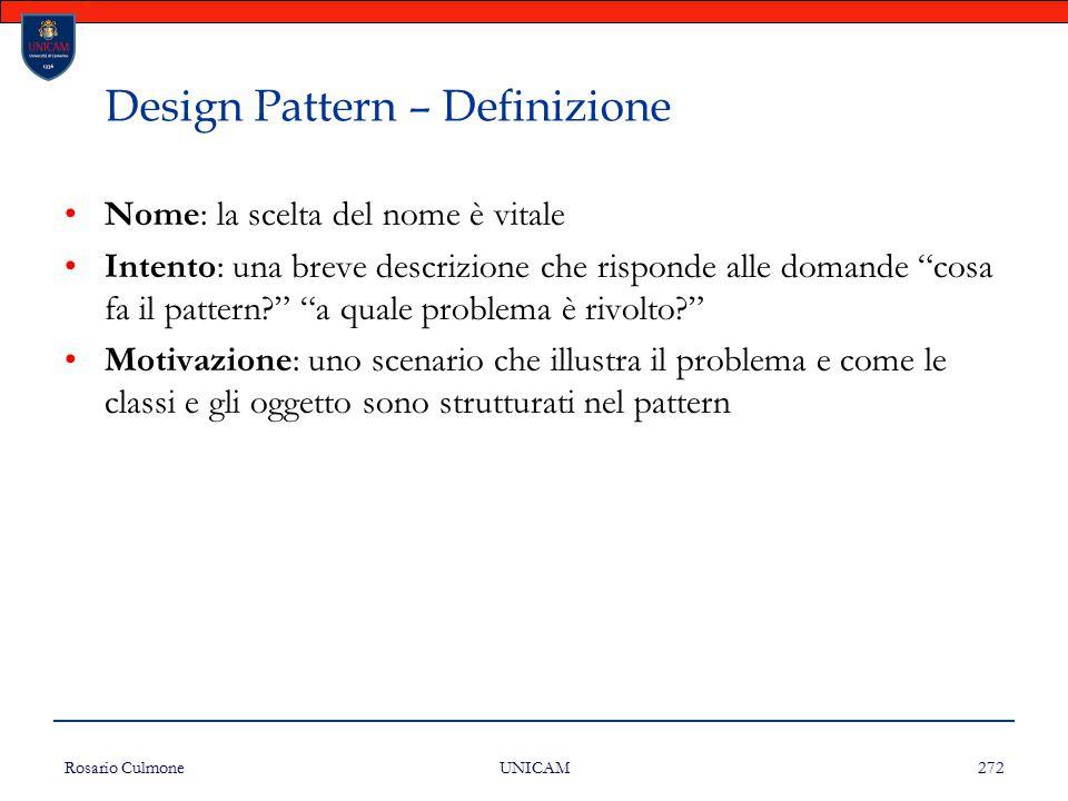 Design Pattern – Definizione
