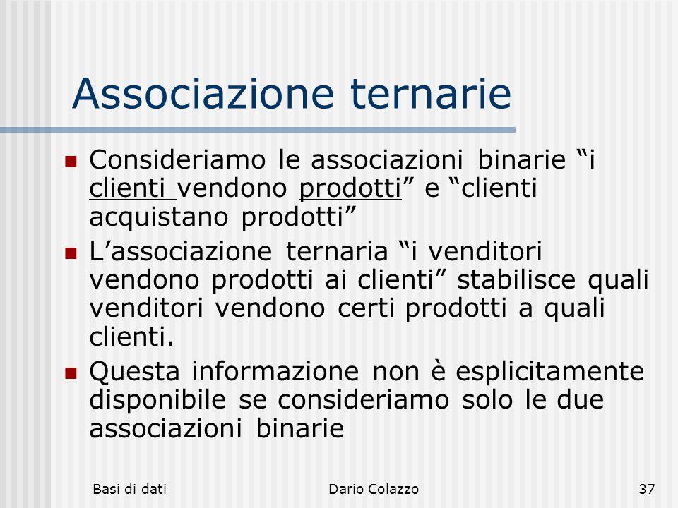 Associazione ternarie