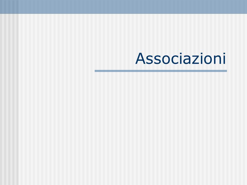 Associazioni