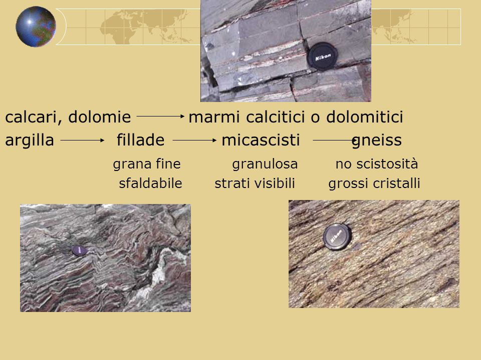 calcari, dolomie marmi calcitici o dolomitici