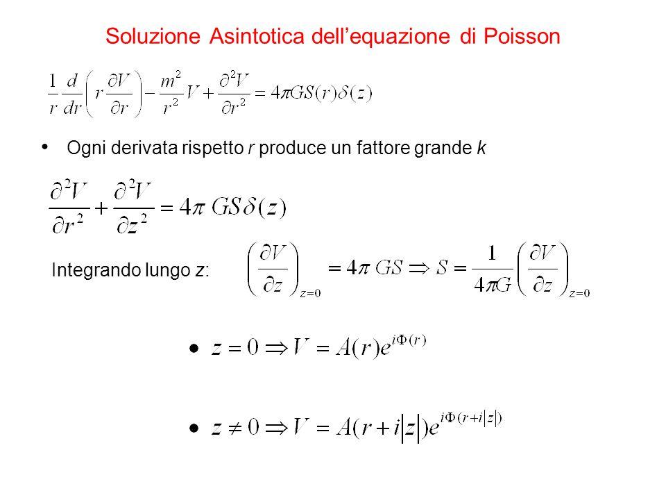 Soluzione Asintotica dell'equazione di Poisson