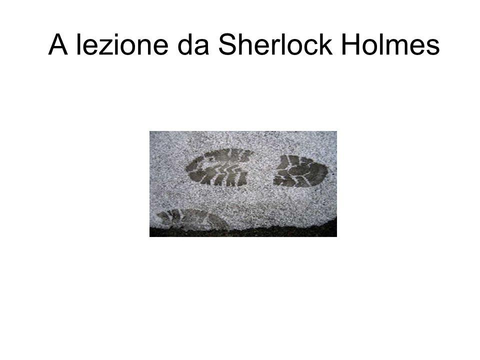 A lezione da Sherlock Holmes
