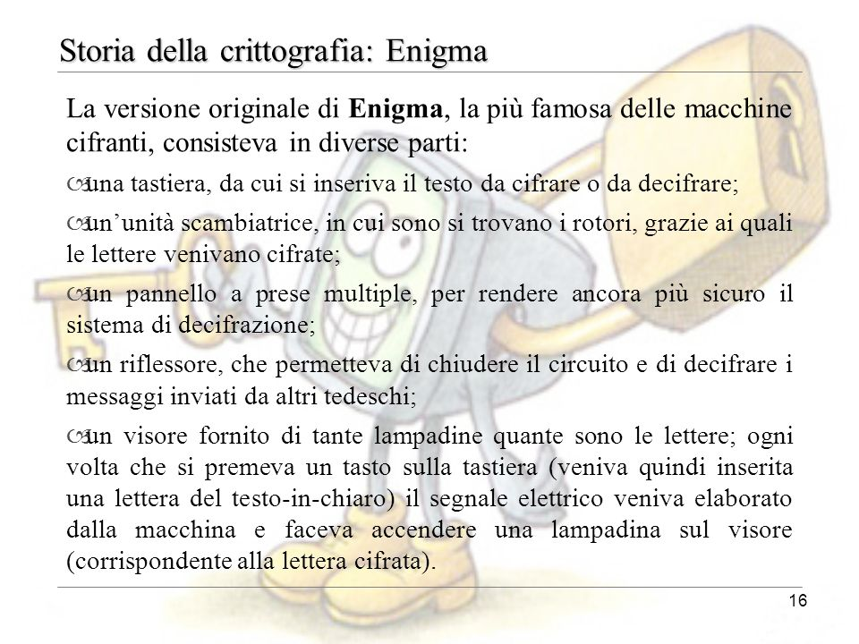 Storia della crittografia: Enigma
