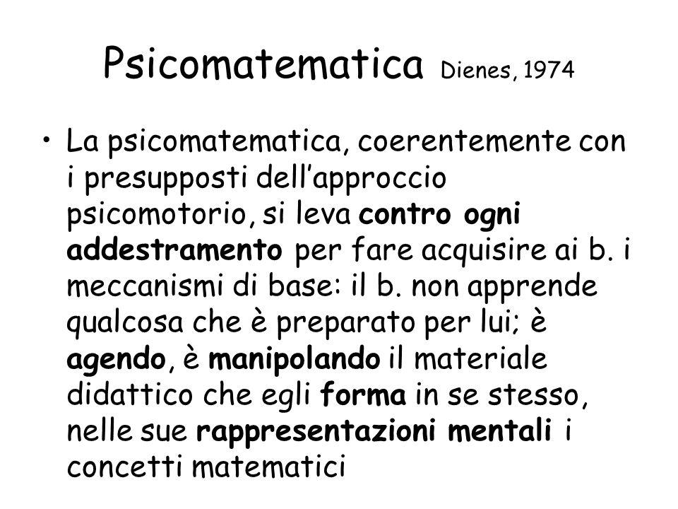 Psicomatematica Dienes, 1974