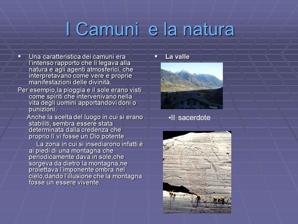 I Camuni e la natura Il sacerdote