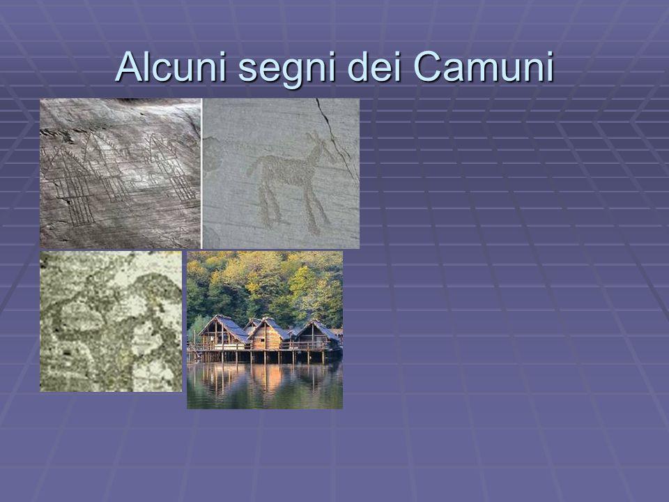 Alcuni segni dei Camuni