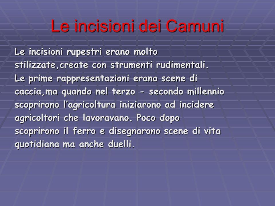 Le incisioni dei Camuni