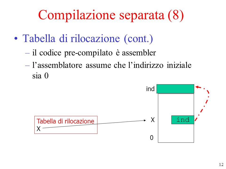 Compilazione separata (8)