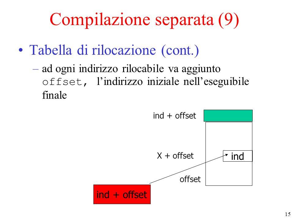 Compilazione separata (9)