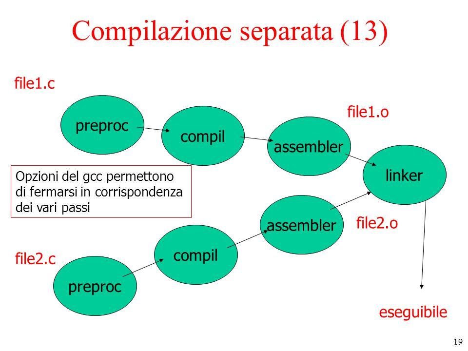 Compilazione separata (13)