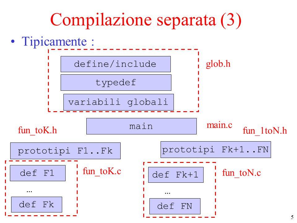 Compilazione separata (3)
