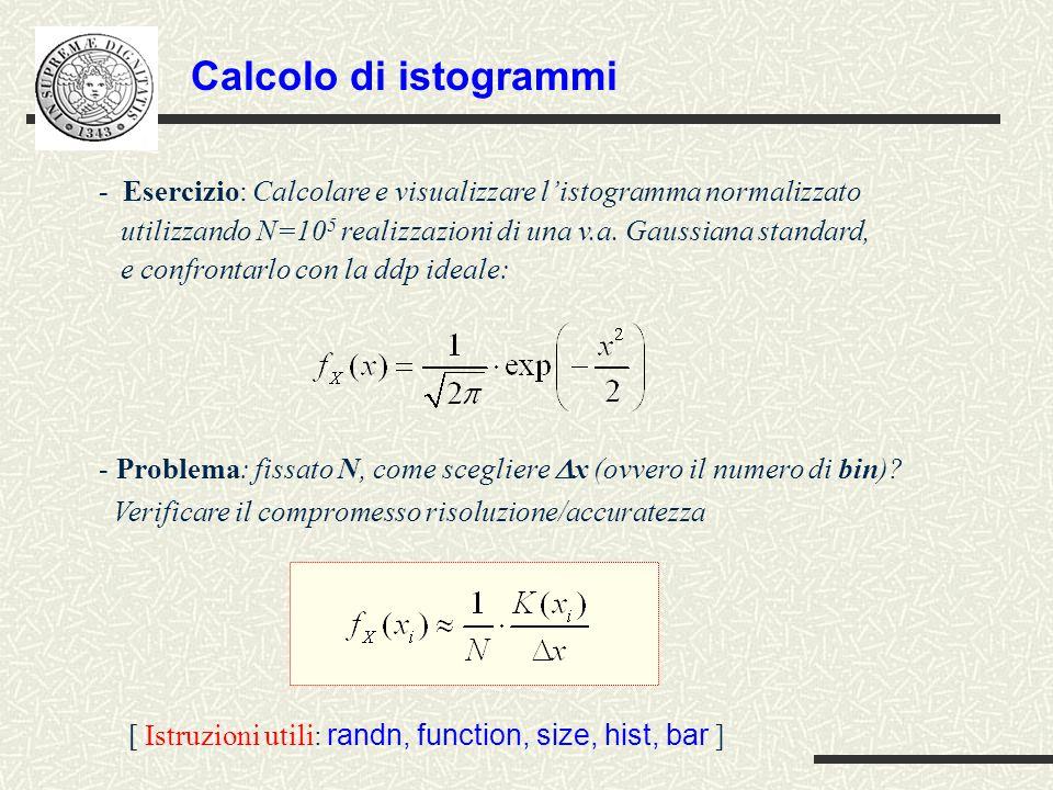 Calcolo di istogrammi
